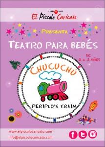 Cartel Cuchuchú Periplo's Train
