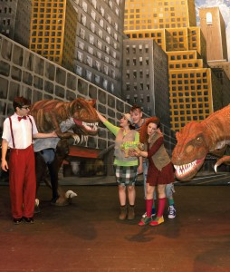 Dinosaurios en la ciudad