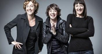 Annabel Totusaus, Meritxell Huertas y Ota Vallés, protagonistas de 'Confesiones de mujeres de 30'