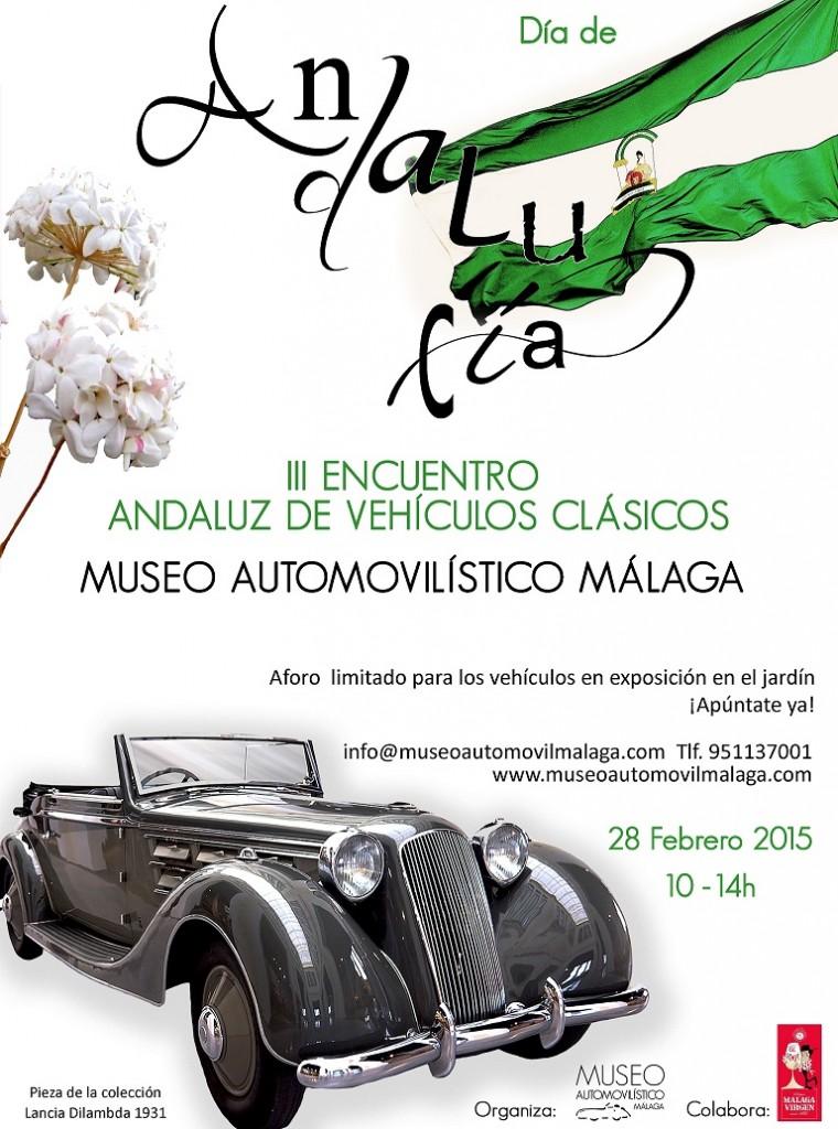 III Encuentro Andluz de Vehículos Clásicos - Museo Automovilístico de Málaga