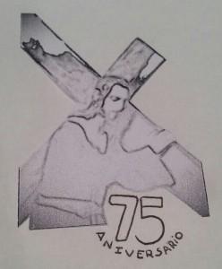 Logo 75 aniversario Nazareno del Paso