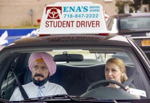 Imagen de la película 'Aprendiendo a conducir'