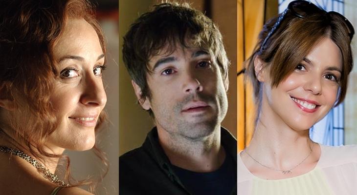 Nathalie Poza, Unax Ugalde y Manuela Velasco