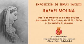 Exposición de Temas Sacros de Rafael Molina