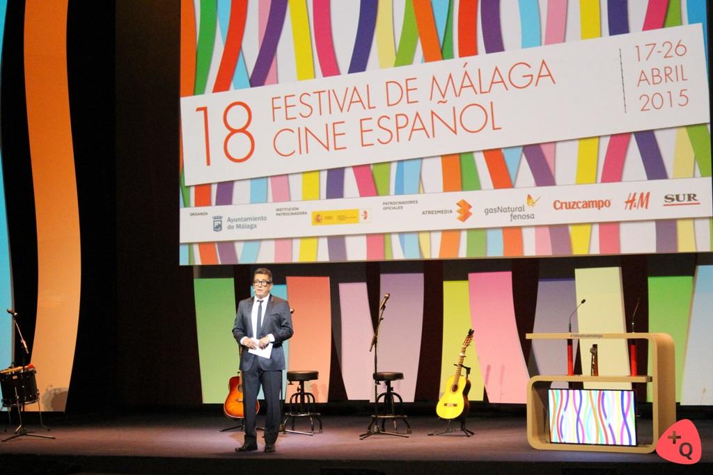 El presentador de la gala, Andreu Buenafuente (©Paloma Martos)