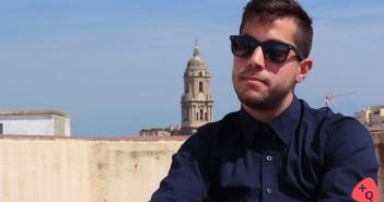 Álvaro Cuevas, director del corto 'Donde caben 2 caben 3'