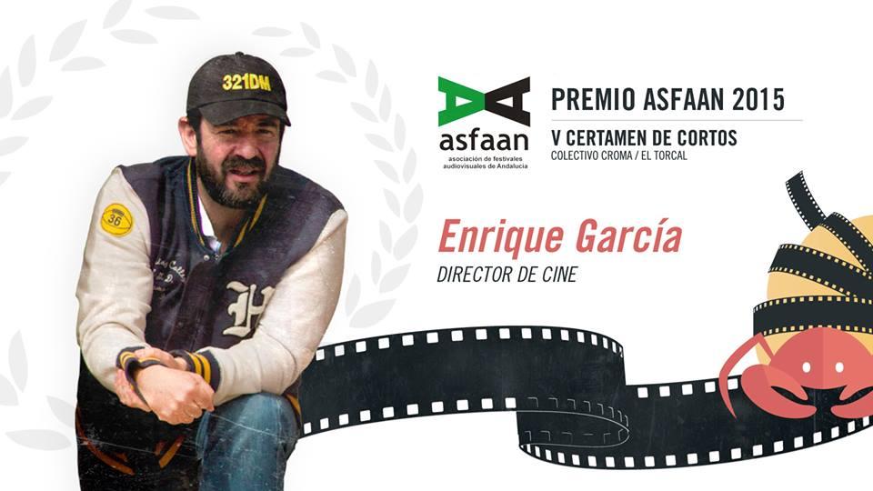 Enrique García, Premio ASFAAN en el V Certamen de Cortos Colectivo CROMA