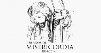 Cartel 150 aniversario de la Misericordia