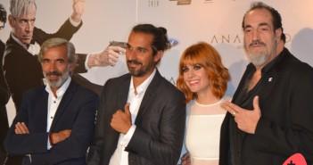 Director y actores de la película (© 2015 Juan Antonio Ortiz) (2)