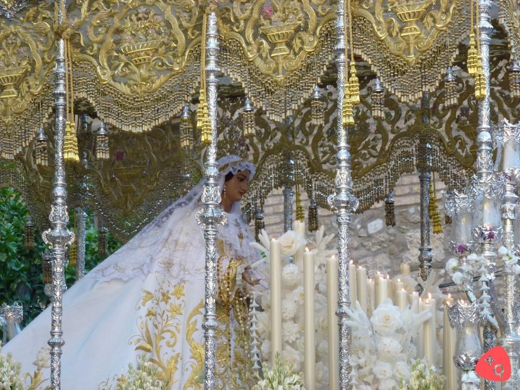 Coronación Virgen del Rocío (© 2015 Alicia Martín)
