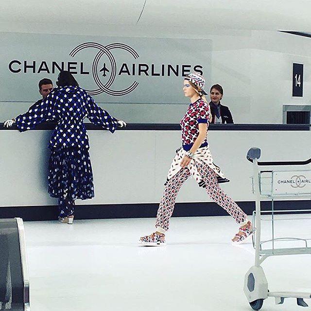Foto de la cuenta oficial de Instagram de Chanel