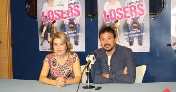 María Pujalte y Guillem Clua presentan 'Losers'