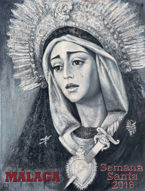 Cartel Semana Santa de Málaga 2016