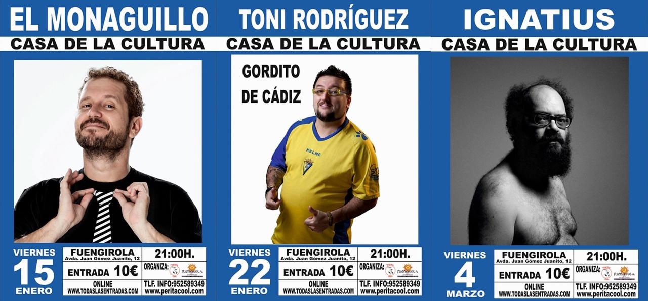 El Monaguillo, Toni Rodríguez e Ignatius Farray