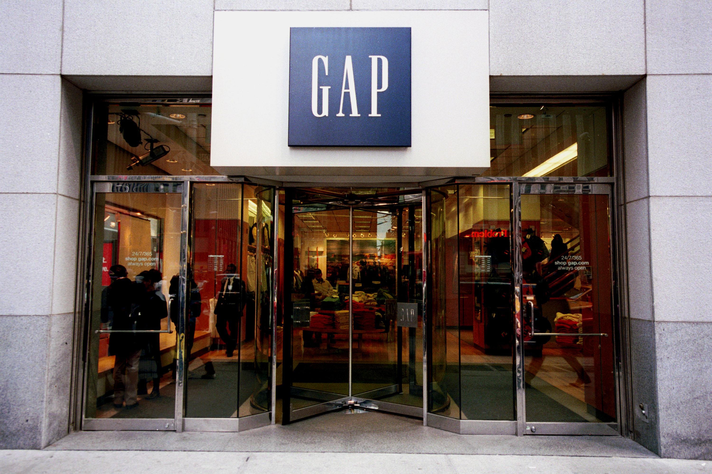 Gap Clothing Store Located in Manhattan