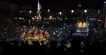 La Semana Santa de Málaga en 360º