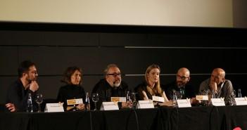 El equipo de 'El bar' presenta 5 minutos de la película en el 19 Festival de Málaga (© 2016 Alicia Martín)