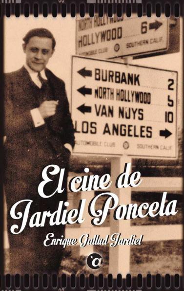 Portada del libro 'El cine de Jardiel Poncela'