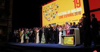 Foto final de los premiados (© 2016 Paloma Martos)