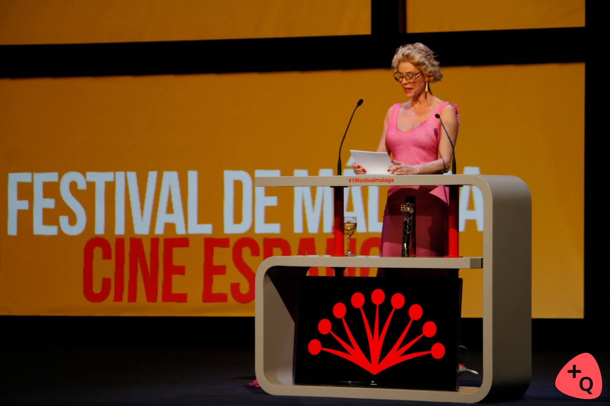 Belén Rueda, presentadora de la gala (© 2016 Alicia Martín)