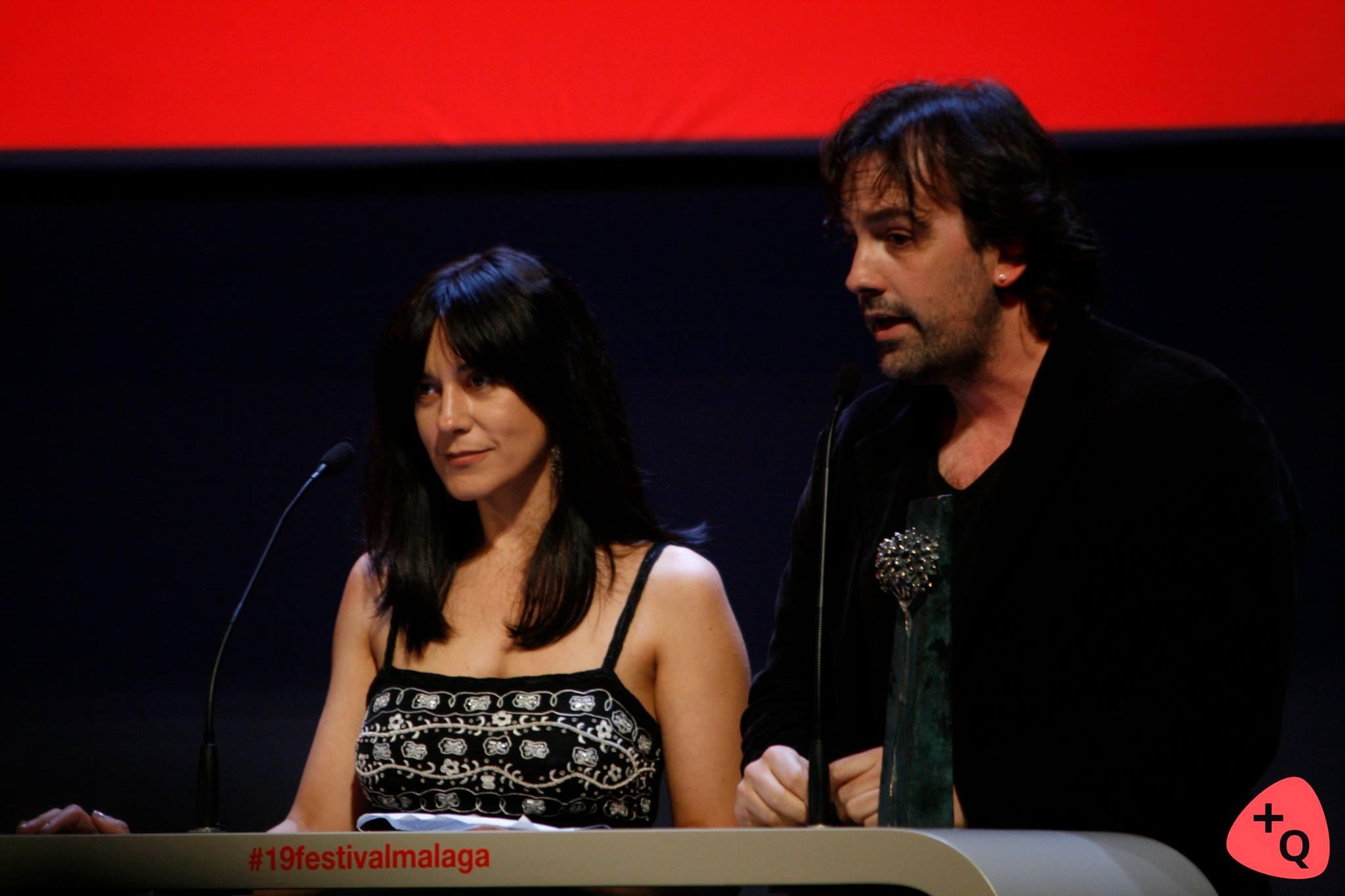 Isa Campo e Isaki Lacuesta Belén Rueda, presentadora de la gala (© 2016 Alicia Martín)