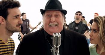 Imagen del videoclip de 'Hola, mi amor', tema principal de 'Cuerpo de élite'