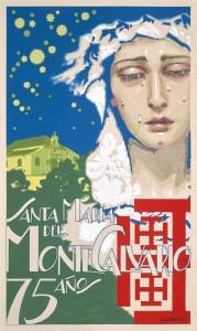 Cartel del 75º aniversario de Santa María del Monte Calvario