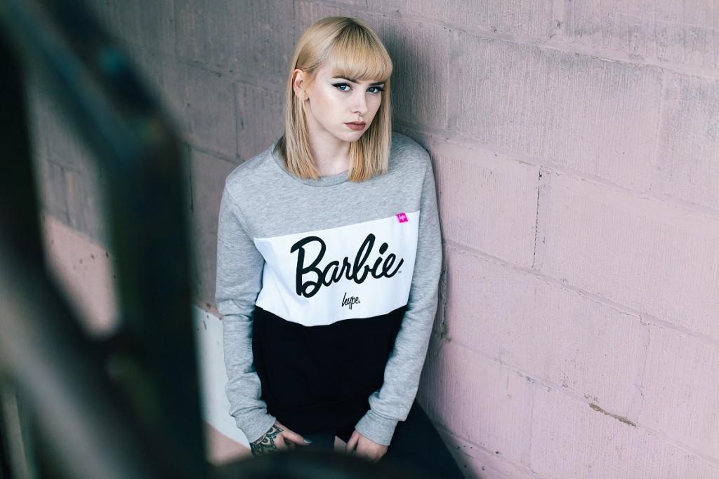 Imagen promocional de la colección de Hype y Barbie