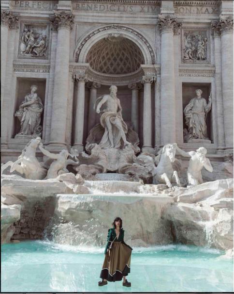 Foto de la cuenta oficial de Instagram de Fendi
