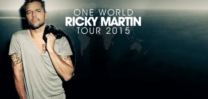 "El ""One World Tour"" de Ricky Martin aterriza en Málaga"