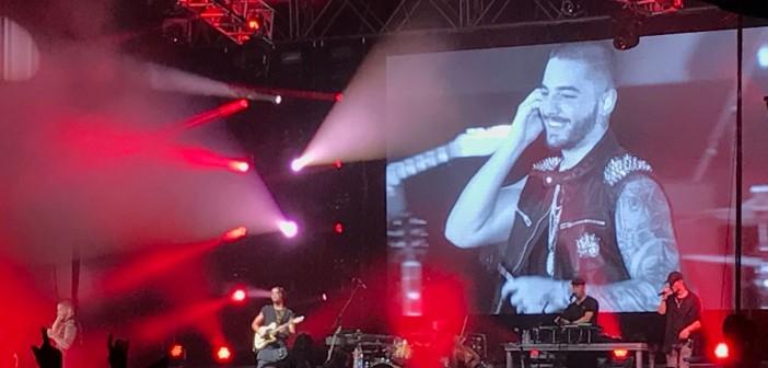 Maluma hace vibrar al público malagueño en el quinto concierto de su gira por España