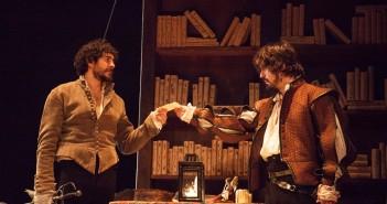 Fotografía de José Manuel Seda y Javier Collado representando 'La estancia'