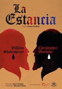 Cartel de la obra teatral 'La estancia', de Chema Cardeña