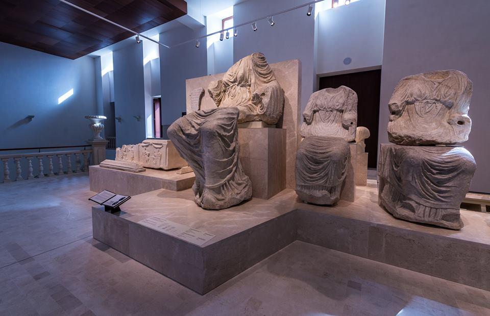 Sala de exposición del Museo de Málaga