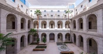 Interior del Museo de Málaga