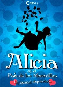 Cartel del musical de 'Alicia en el País de las Maravillas'