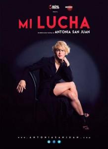 Cartel de 'Mi lucha', de Antonia San Juan