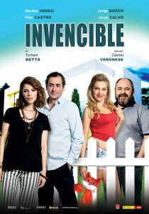 Cartel de 'Invencible', una sátira social