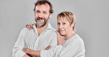José Luis García-Pérez y Blanca Portillo protagonizan 'El cartógrafo' (© marcosGpunto)