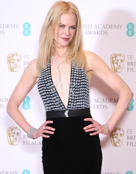 Nicole Kidman. Foto de la cuenta oficial de Instagram de Armani