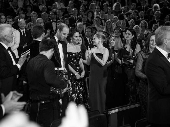 Foto de la cuenta oficial de Instagram de BAFTA