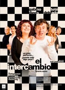 Cartel de 'El intercambio', una comedia de Ignacio Nacho