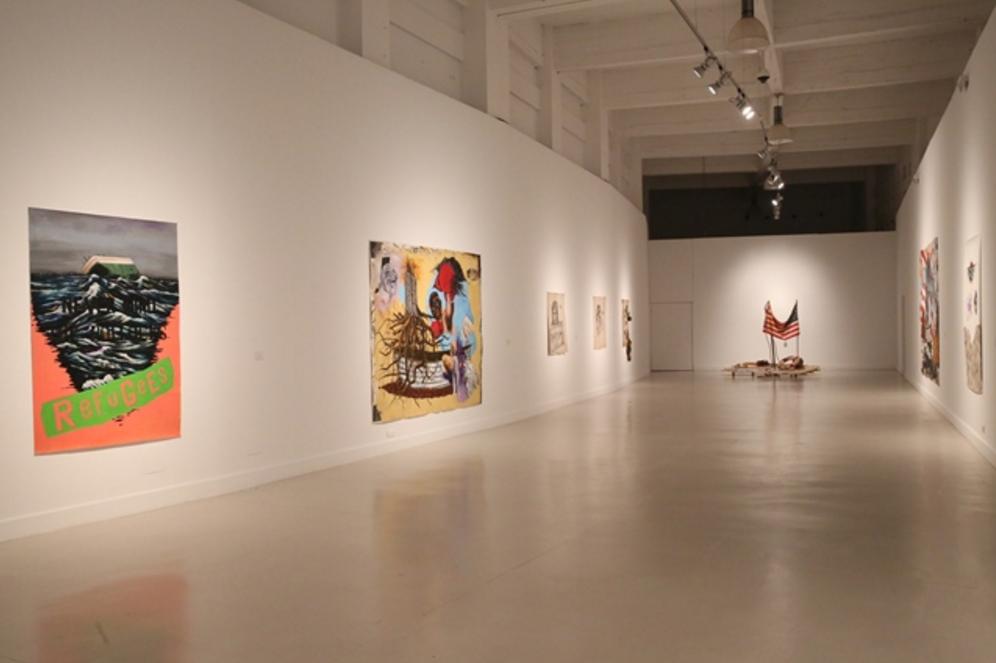 Exposición de Travis Somerville en el CAC Málaga