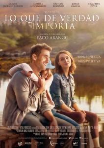 Cartel de 'Lo que de verdad importa', una película de Paco Arango
