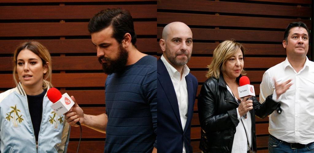 Blanca Suárez, Mario Casas, Jaime Ordóñez, Carmen Machi y Secun de la Rosa