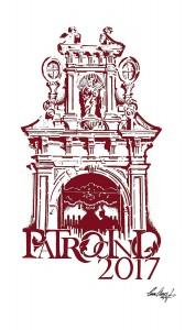 Logotipo conmemorativo de la primera salida procesional del Patrocinio