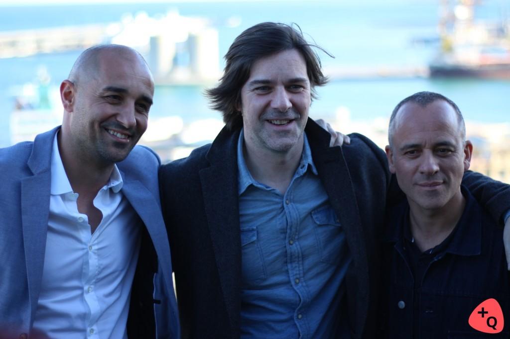 Alain Hernández, Iñaki Dorronsoro y Javier Gutiérrez (© 2017 Paloma Martos)