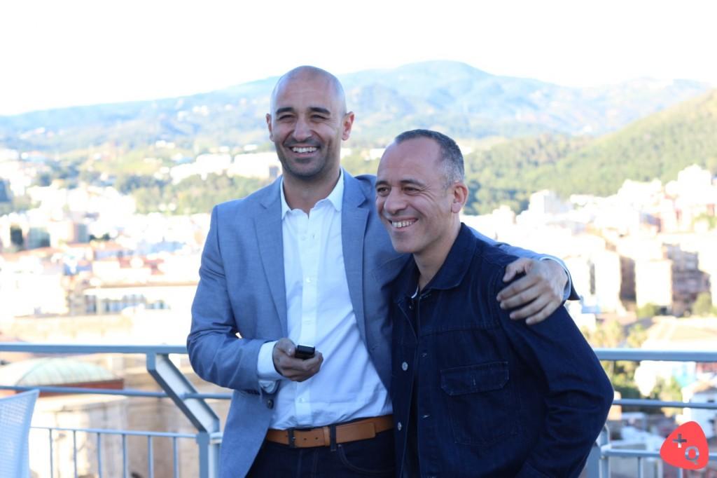 Alain Hernández y Javier Gutiérrez (© 2017 Paloma Martos)