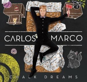 Portada de 'Chalk dreams', el primer disco en solitario de Carlos Marco