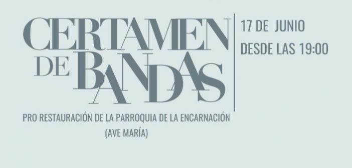 La Hermandad de la Mediadora organiza un certamen de bandas a favor de la restauración de su sede canónica